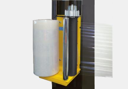Freno film estirable electromagnetico