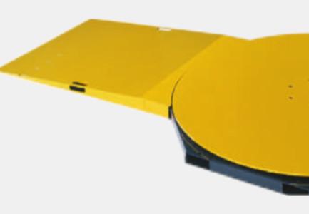 Rampa acceso plataforma