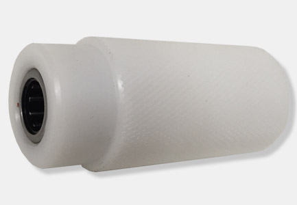 rodillo antiretorno superior de recambio para cabezal k11 de precintadora de cajas
